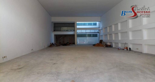 Imagem 1 de 8 de Galpão Para Alugar, 600 M² Por R$ 16.000,00/mês - Jardim Anália Franco - São Paulo/sp - Ga0170