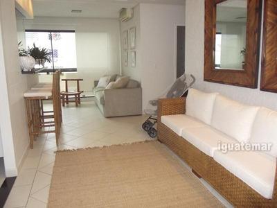 Excelente Flat A Uma Quadra Do Mar No Guaruja - P3508mlg