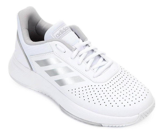 Tênis adidas Courtsmash Feminino Cadarço Training Conforto