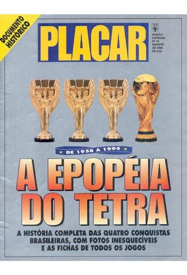 10 Revistas Digitalizados Placar Especial Copa Do Mundo 1994