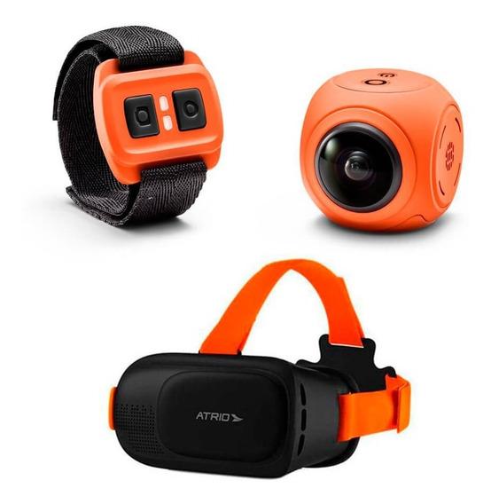 Câmera Panorâmica X-pheral Wifi C/ Óculos Vr Fullsport Atrio