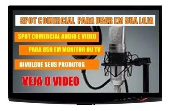 Comercial Audio E Video Para Divulgação Em Loja - Veja O Vt