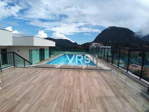 Imagem 1 de 20 de Apartamento Com 2 Dormitórios À Venda, 93 M² Por R$ 550.000,00 - Alto - Teresópolis/rj - Ap0324