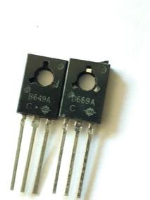 Transistor2sb649a 2sd669a B649a D669a 126 Triode Tubo P1000