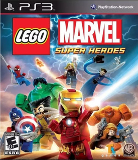 Lego Marvel Super Heroes Ps3 - Play Mexico