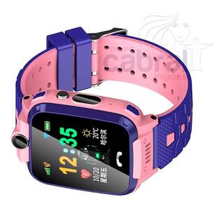 Relogio Smartwatch Menina Presente Dia Das Crianças Gps