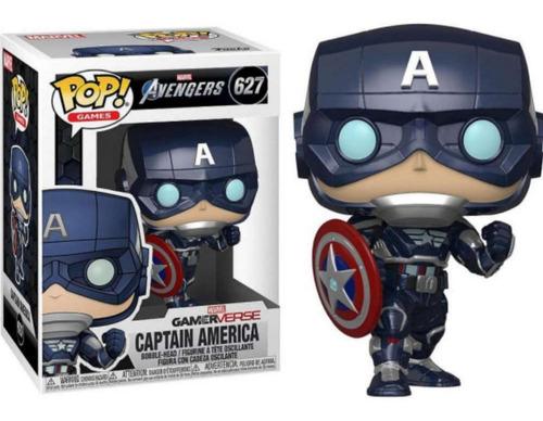 Funko Pop #627 Capitan America - Marvel Gameverse Original!!
