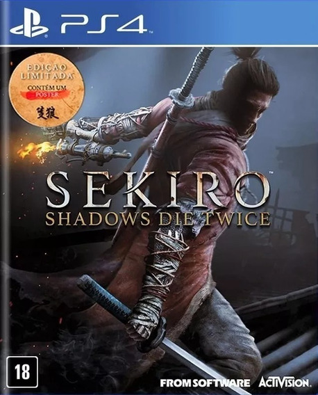 Jogo Sekiro Shadows Die Twice Ps4 Midia Fisica Pronta Entreg
