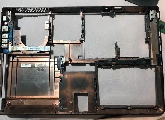Carcaça Inferior Do Notebook Avell G1511 Fire/max/titanium