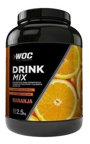 Repositor  Drink Mix Woc Naranja 2.5kg - Nutrition Center