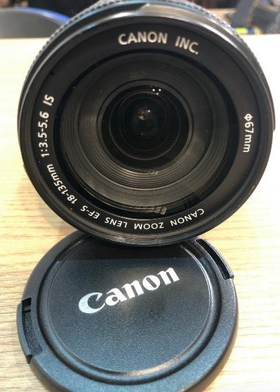 Lente Canon 18-135 3.5-5.6 Is Usada Em Ótimo Estado