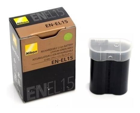 Bateria - En-el15 P/ Nikon D7200 D7100 D7000 D610 D810 D750