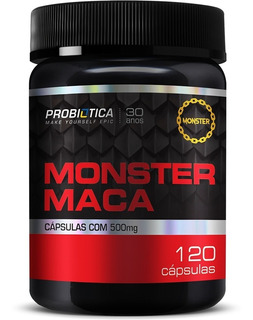 Monster Maca Peruana 120cáps - Probiotica
