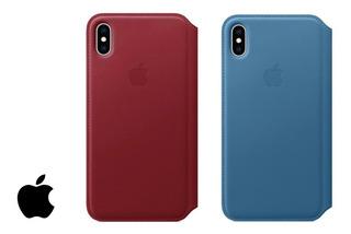 Capa Case Folio De Couro - iPhone Xs Max - Original Apple