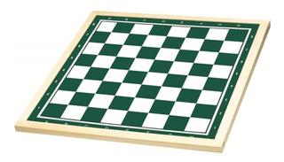 Tabuleiro Para Jogo Xadrez 50x50cm Madeira Brinquedo Xalingo