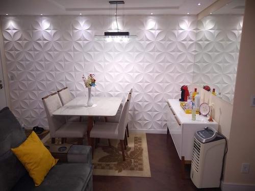 Apartamento Com 3 Dormitórios À Venda, 71 M² - Parque Jaçatuba - Santo André/sp - Ap63586