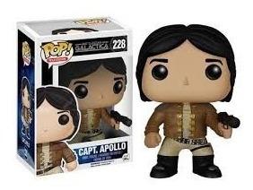 Captain Apollo Serie De Tv Battlestar Galactica Funko Pop