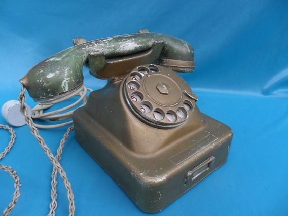Telefono Antiguo Vintage Decada 50 Retro Restaurar Decoracio