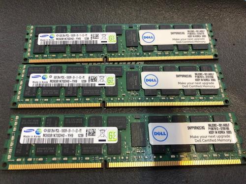 Imagem 1 de 10 de Kit 16gb Pc3l-10600r Dell Poweredge T320 T410 T420 T610 T620