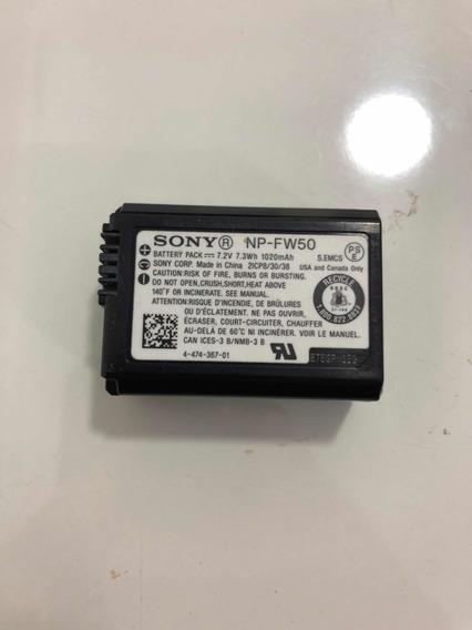 Bateria Sony Fw-50 Original P/ A600 A6300 A6500