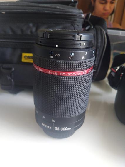 Lente Pentax-da 55-300mm F/4-5.8 Ed Wr Para Pentax Série K