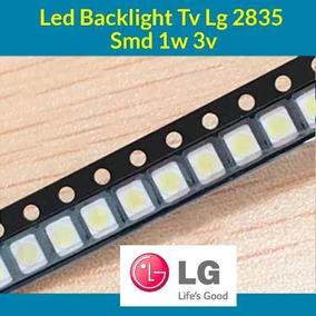 Kit 20 Leds Backlight Tv Lg 2835 Smd 1w 3v