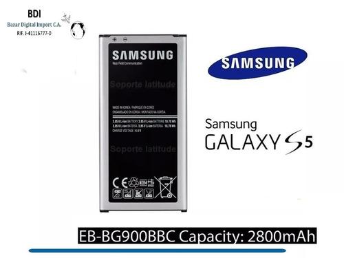 Bateria Samsung Galaxy S5 I9600 G900 Eb-bg900bbc 2800 Mah