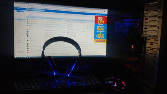 Pc Gamer + Monitor Full Hd, Retirar No Local.