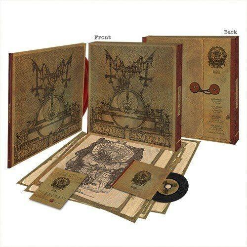 Mayhem-esoteric Warfare-limited 2lp + Cd Boxset 1000 Cópias