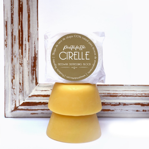 Imagen 1 de 3 de Pintalatte Cirelle - Bloque Puro Cera De Abejas 100% Natural