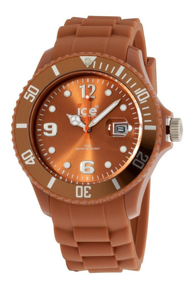 Reloj Ice Watch Original Nuevo Color Caramelo