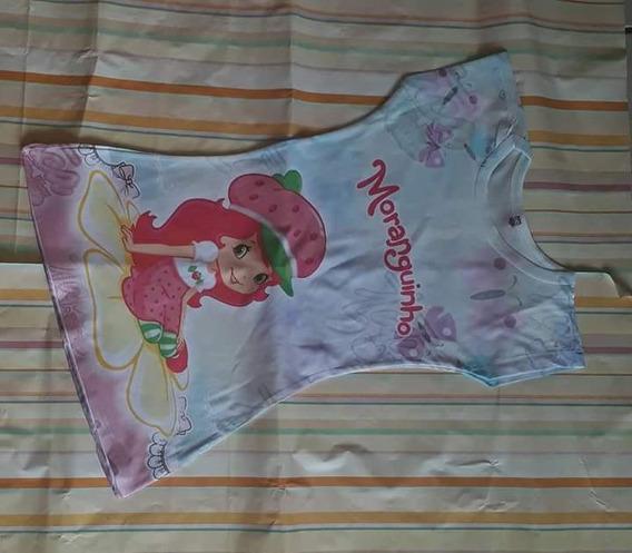 Lote 10 Vestidos Infantil Personagens Sortidos