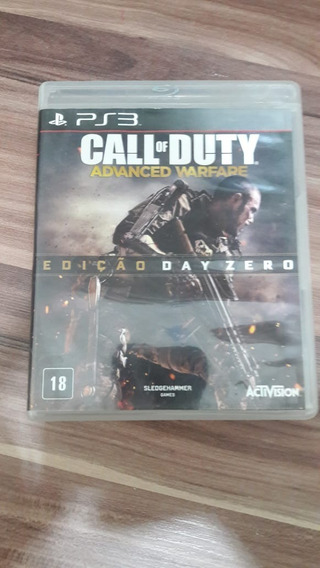 Call Of Duty Advanced Warfare Edição Day Zero Ps3 Midia Fisi