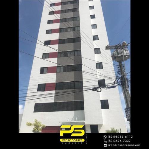 Apartamento Com 2 Dormitórios À Venda, 65 M² Por R$ 300.000 - Bairro Dos Estados - João Pessoa/pb - Ap4350