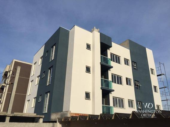 Apartamento Com 3 Dormitórios À Venda, 57 M² Por R$ 207.000 - Cidade Jardim - São José Dos Pinhais/pr - Ap0222