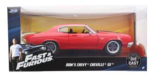 Veiculo Velozes E Furiosos 1969 Chevy Chevelle Ss 1/24 97193
