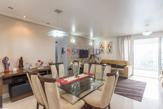 Apartamento Com Varanda Gourmet E Lindo Acabamento! - Mr68757