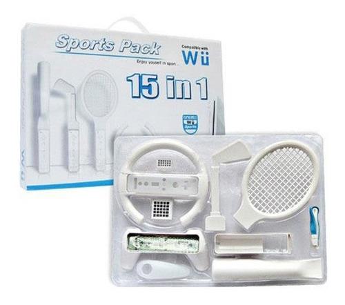 Pack 15 En 1 Sports Para Wii