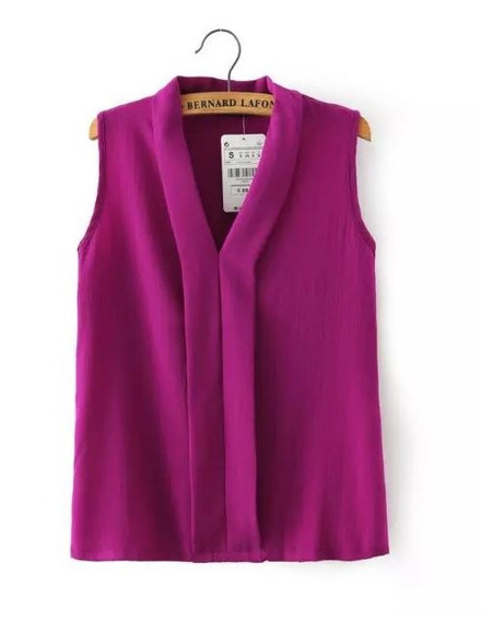 Bl1242 Blusa Casual Morada, It Girls Colombia