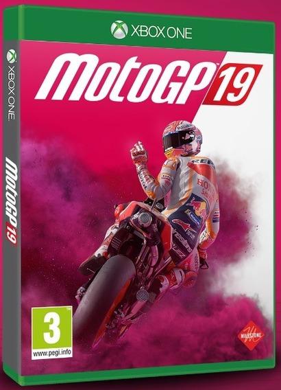 Mídia Física Motogp 19 Xbox One - Novo E Lacrado De Fábrica!