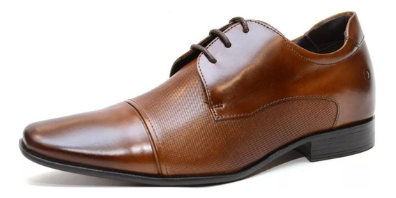 Zapato Democrata Hombre Taller Taco Interno + 6 Cm 061109
