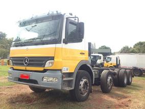 Caminhão Mercedes-benz Atego 2425 8x2 (bitruck) 2009