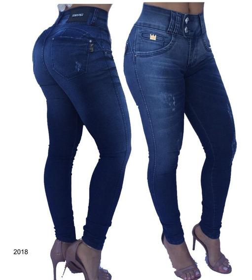 Calça Jeans Estilo Pit Bull Com Bojo