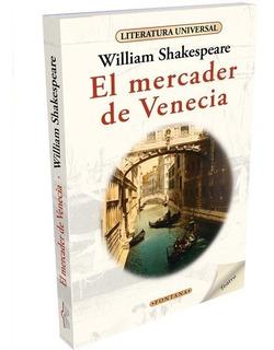 Libro. El Mercader De Venecia. William Shakespeare. Fontana.
