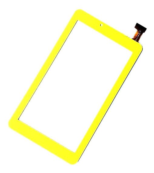 Tela Vidro Touch Tablet Dl Sabichoes Tx386bvd Tx386 Amarelo