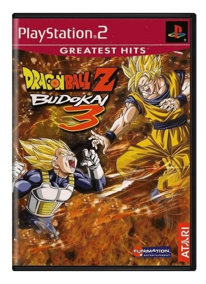 Dragon Ball Z Budokai 3 Ps2 Mídia Física Pronta Entrega
