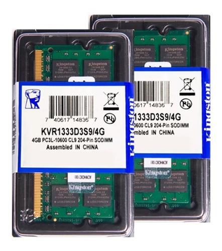 Memória Kingston Ddr3l 4gb 1333 Notebook 1.35v Low Voltage