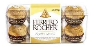 Chocolate Ferrero Rocher Relleno Con Avellana Con 16 Piezas