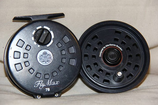 Reel Abu Garcia Modelo Fly Max Linea 7/8 Con Extra Spool