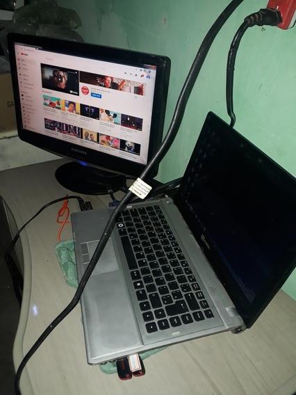 Vendo Notebook N3mobile.com Monitor Samsung Digital Novo